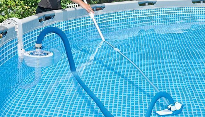 Cómo conectar limpiafondos para piscina desmontable
