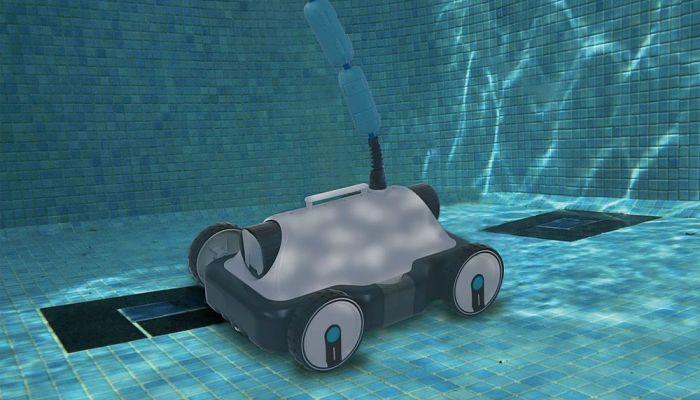Cómo pasar limpiafondos a la piscina