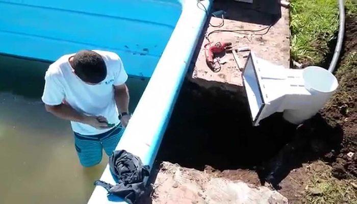 Cómo instalar un skimmer en una piscina de hormigón