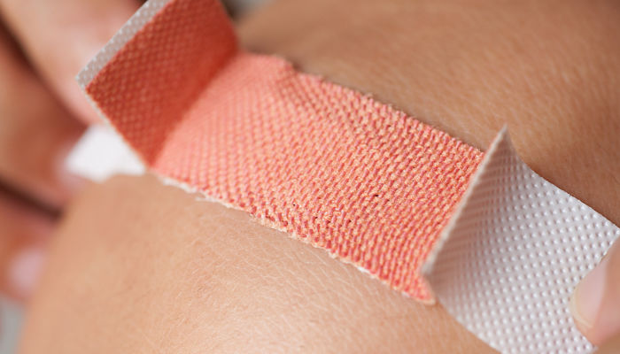 Herida cubierta