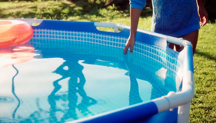 Como vaciar una piscina desmontable