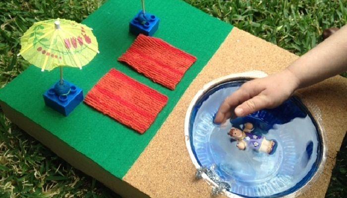 Cómo Hacer una Piscina para Muñecas