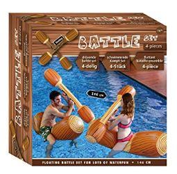 Juego de batalla flotador de piscina
