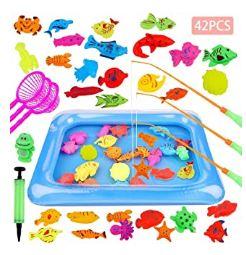 Juguete de pesca para niño GOLDE 42 PCS