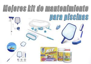 kits de mantenimiento para piscinas