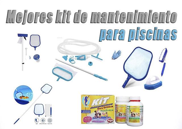 Mejores Kits de Mantenimiento Para Piscinas