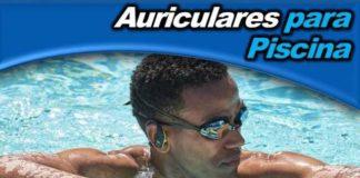 Auriculares para piscina